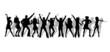 Leinwanddruck Bild - tanzen