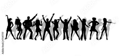 Leinwanddruck Bild tanzen