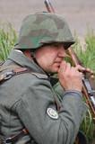 WW2 german soldier poster