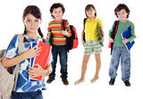 lovables students childrens poster