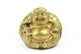 Smějící se Buddha Izolovaný