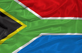 South Africa Flag 3 poster