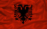 Albania Flag 3 poster