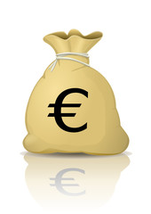 Sac d'Euros (reflet)