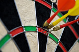 hit point in darts poster