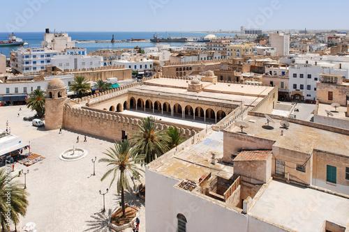 Fotobehang Tunesië View onto Sousse, Tunisia