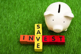 Savings and Interest poster
