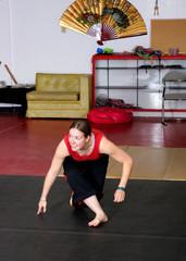 woman capoeirista