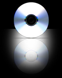 Blank CD layout for presentation (Label Path Included) poster