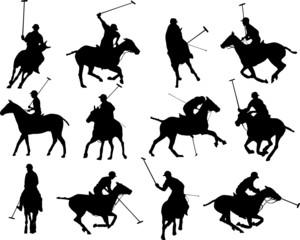 Polo silhouettes
