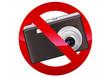 Interdiction de photographier