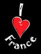 I Love France logo