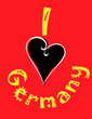 I love germany logo