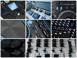 Fototapety Super DJ blue