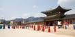 Leinwanddruck Bild - Deoksugung Palace, Seoul, Korea