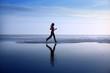 Leinwandbild Motiv woman jogging