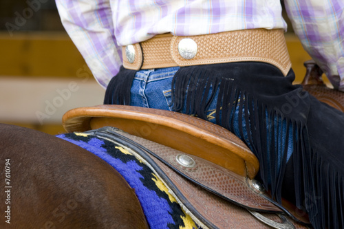 Papiers peints Equitation western riding equipment detail