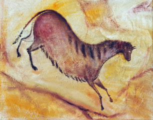 horse - cave painting