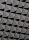 Studio acoustic foam poster
