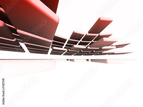 Leinwanddruck Bild Architectural design