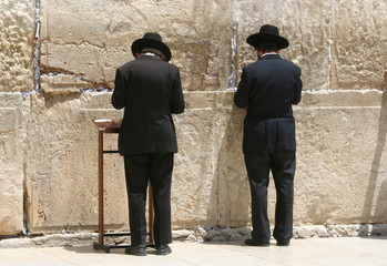Jewish Orthodox Praying