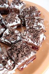 Black Forest Gateau or cake