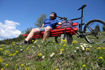 Biken - Erholung in den Bergen