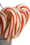 A pale of Candy Canes poster