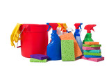 Spring Cleaning Supplies poster