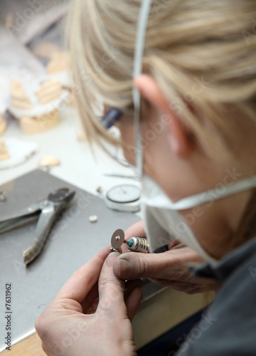 Dental technician