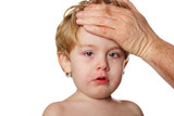 Fototapety Sick child