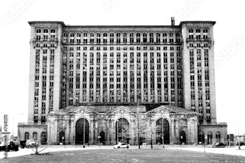 Michigan Central Station, Detroit, Michigan - 7641311