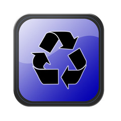 blue button - recycle