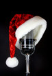 Santa Hat on Microphone