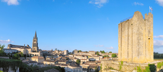 panoramique de saint emilion