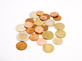 Unsorted coins