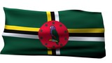Dominica Flag bg