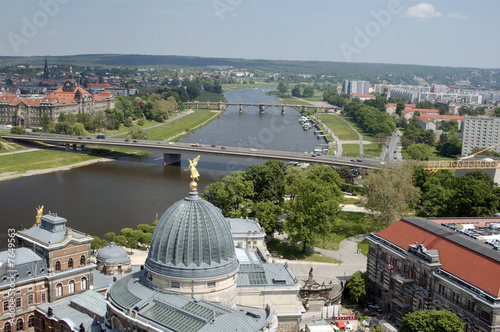 Elbe in Dresden