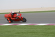 Постер, плакат: Superbike racing on track