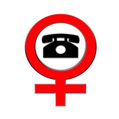 Telefon verboten für Frauen