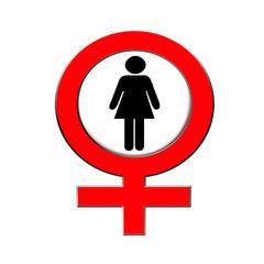 Frauen warnung verboten