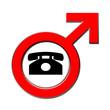 Telefon verboten für Männer
