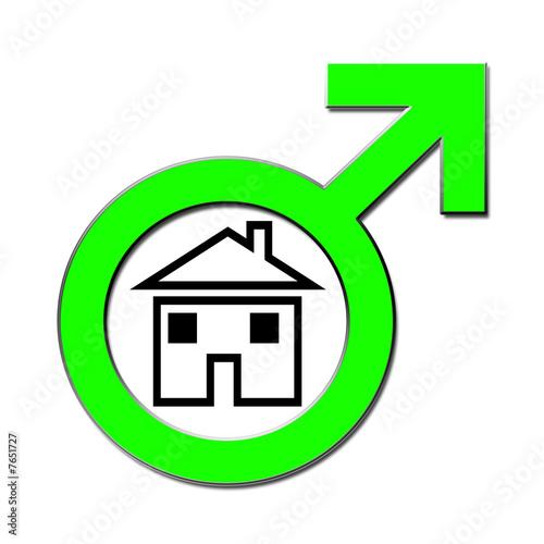Männer Haus