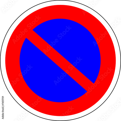 a0168 panneau interdiction de stationner stock image and royalty free vector files on