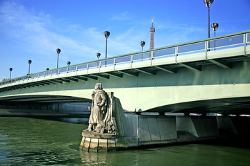 paris, zouave du pont de l'alma