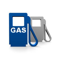 Tankstelle gas