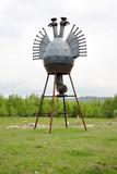 Nikola-lenivec. A heat is a bird  poster