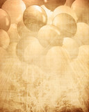 Old paper texture with integrated balloons poster