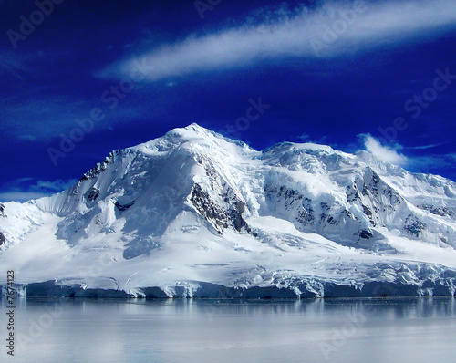 In de dag Gletsjers antartica revealed