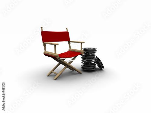 Sedia da regista di mauro saivezzo foto stock royalty for Sedia da regista